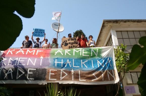 Dört Ayaklı Şehir'in 17 Mayıs Kamp Armen Röportajı