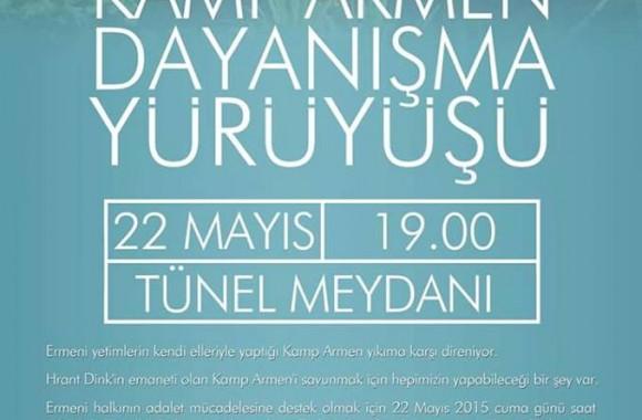Kamp Armen Dayanışma Yürüyüşü