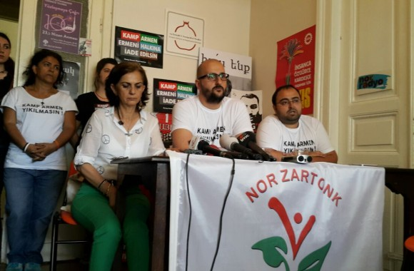 30. Gününde Kamp Armen Direnişi Basın Toplantısı